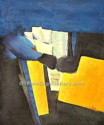 """Blue and Yellow 40"""