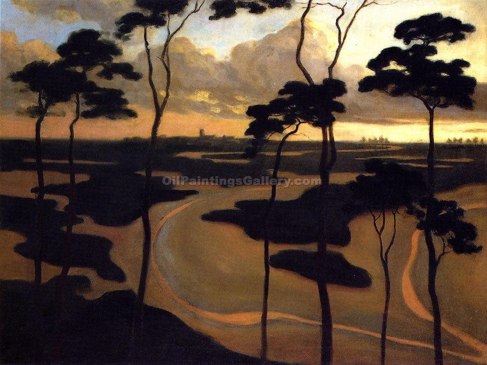 """Blythburg, the Estuary"" by  Roger Eliot Fry"