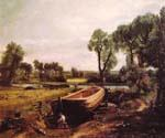 Boat Building by  John Constable (Painting ID: LA-2938-KA)