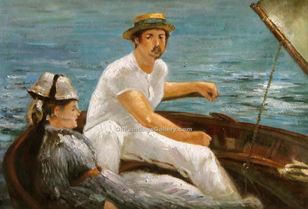 """Boating 09"" by  Edouard Manet"