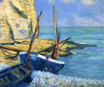 Boats at Etretat by Theodore Earl Butler (Painting ID: LA-0648-KA)