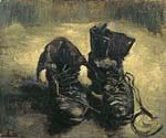 Boots with Laces by  Vincent Van Gogh (Painting ID: VG-0496-KA)