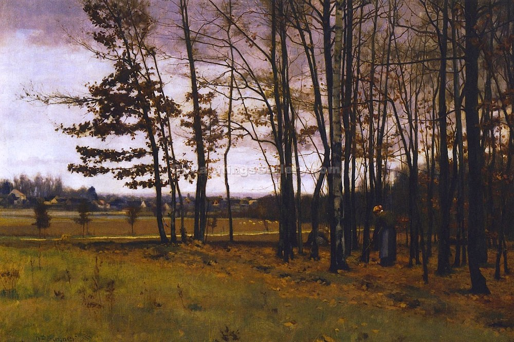 """Border of the Forest of Fontainebleau"" by  William Brymner"