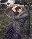 Boreas by  John William Waterhouse (Painting ID: CL-4215-KA)