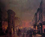 Boulevard Saint-Denis, Paris by  Ippolito Caffi (Painting ID: CI-0317-KA)