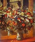 Bouquet in Front of a Mirror by  Pierre Auguste Renoir (Painting ID: SL-0208-KA)