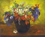 Bouquet of Flowers 09 by  Paul Gauguin (Painting ID: GA-0409-KA)