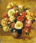 Bouquet of Roses 09 by  Pierre Auguste Renoir (Painting ID: SL-0209-KA)