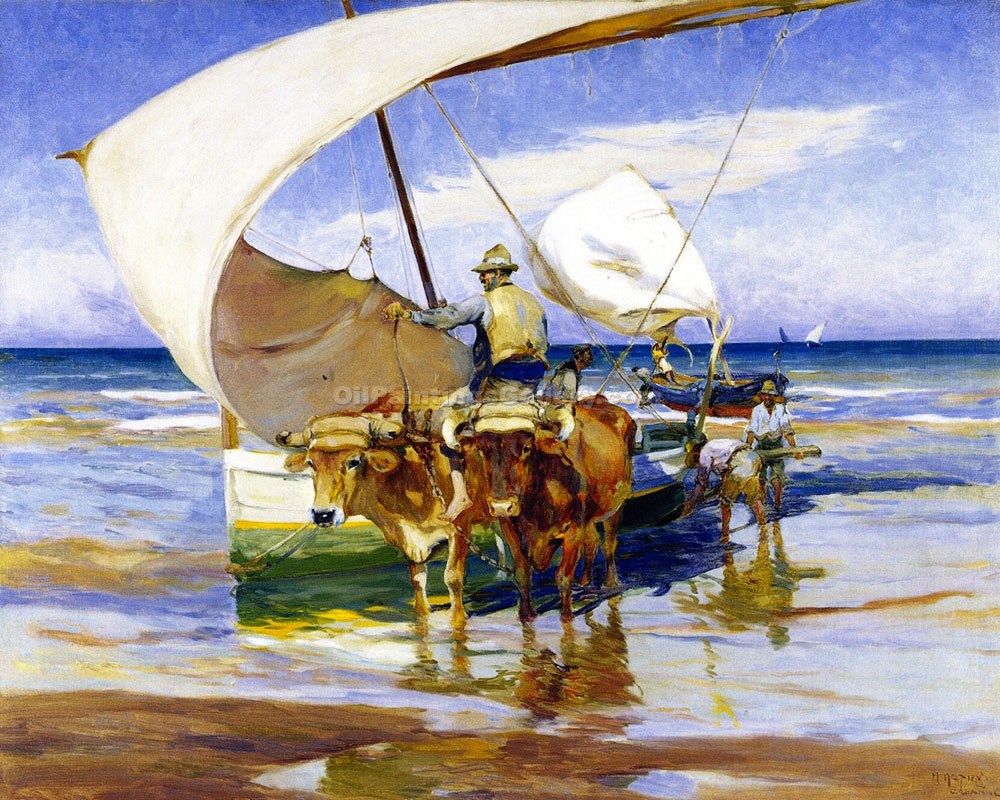 """Bracing The Boats"" by  Mathias J. Alten"