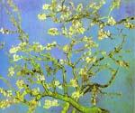 Branches of Almond Tree in Bloom St. Remy by  Vincent Van Gogh (Painting ID: VG-0220-KA)