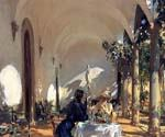 Breakfast on the Loggia by  John Singer Sargent (Painting ID: EI-0410-KA)