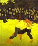 Breton Wrestling by  Paul Serusier (Painting ID: EI-0502-KA)