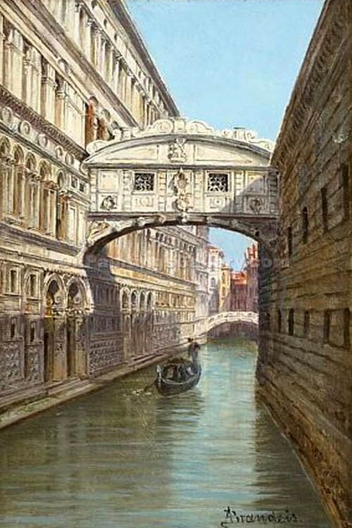 """Bridge of Sighs 81"" by  Antonietta Brandeis"