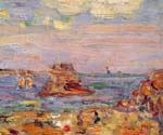 Brittany Coast by  Maurice Brazil Prendergast (Painting ID: CL-4640-KA)