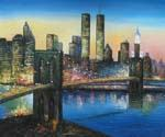 Brooklyn Bridge 07  (Painting ID: CI-3107-KA)