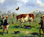 Bull Baiting by  Samuel Henry Alchen (Painting ID: AN-0089-KA)
