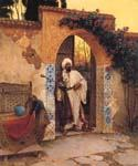 By the Entrance by  Rudolf Ernst (Painting ID: ER-0124-KA)