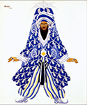 Le Sultan Vindicatif by  Leon Bakst (Painting ID: CL-1960-KA)