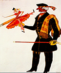 The Englishman, from La Boutique Fantastique by  Leon Bakst (Painting ID: CL-1966-KA)
