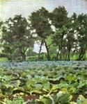 Cabbage Field with Willows by  Victor Borisov Musatov (Painting ID: LA-1012-KA)