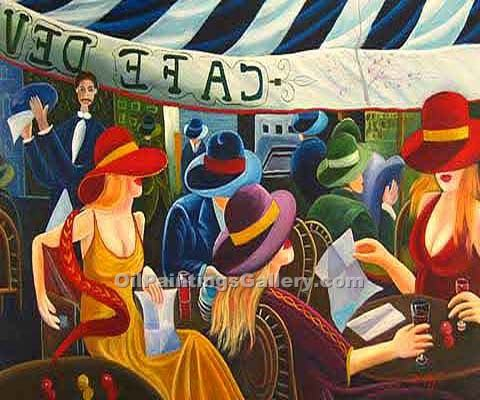 Buy Famous Painters' Reproduction Paintings Online | Art Deco, Art Nouveau, Pop Art - Oil Paintings Gallery