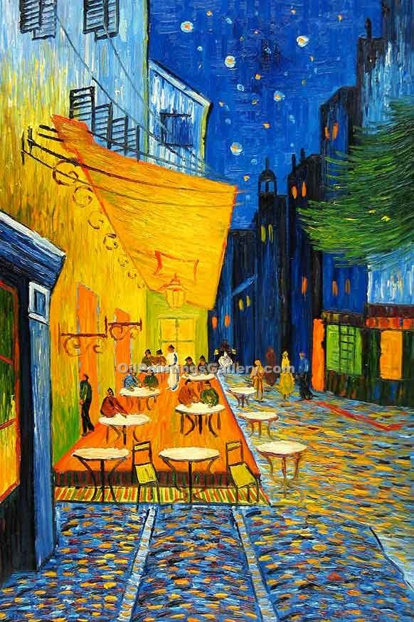 """Cafe Terrace at Night"" by  Vincent Van Gogh"