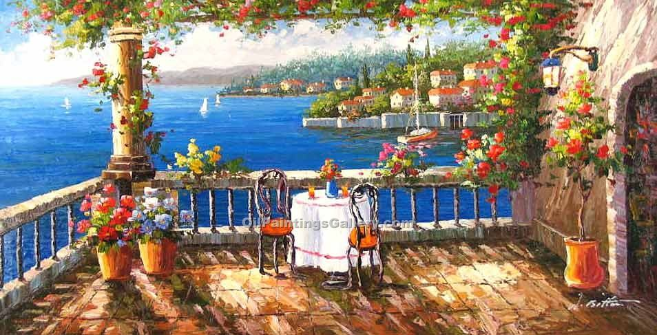 """Cafe in Portofino 01"""