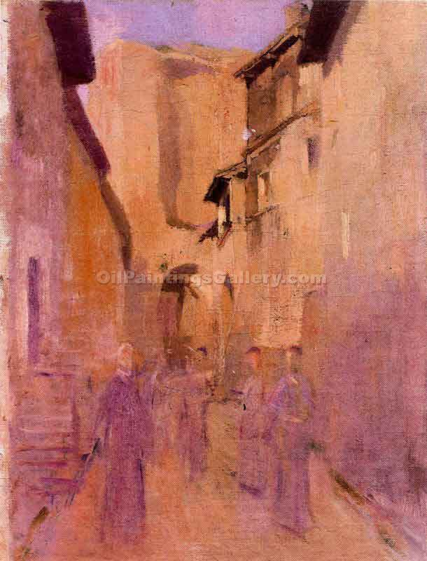 """Calle de As"" by  Jose Benlliurey Gil"