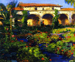Capistrano Courtyard by  Joseph Kleitsch (Painting ID: LA-2734-KA)
