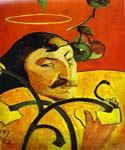 Caricature Self Portrait by  Paul Gauguin (Painting ID: GA-0272-KA)