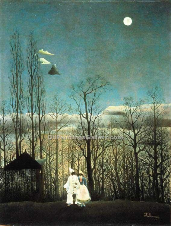 """Carnival Evening"" by  Henri Rousseau"