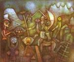Carnival in the Mountains by  Paul Klee (Painting ID: AB-0414-KA)
