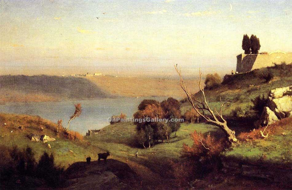 Casle Gandolfo by George Inness | Artist Painting - Oil Paintings Gallery