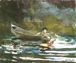 Casting by  Winslow Homer (Painting ID: LA-1870-KA)