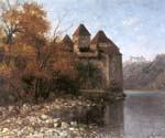 Chateau de Chillon 09 by  Gustave Courbet (Painting ID: CM-0809-KA)