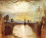 Chichester Canal by  William Turner (Painting ID: LA-1906-KA)