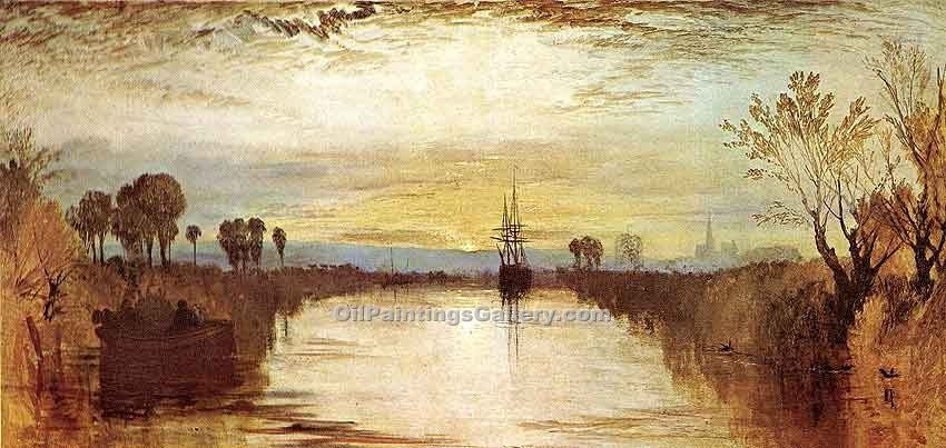 """Chichester Canal"" by  William Turner"