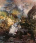 Children of the Mountain by  Thomas Moran (Painting ID: LA-5714-KA)