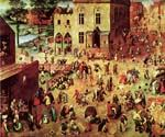 Childrens Games by  Pieter the Elder Brueghel (Painting ID: CL-6009-KA)
