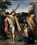 Christ Appearing to St. Peter by  Agostino Carracci (Painting ID: DA-2001-KA)