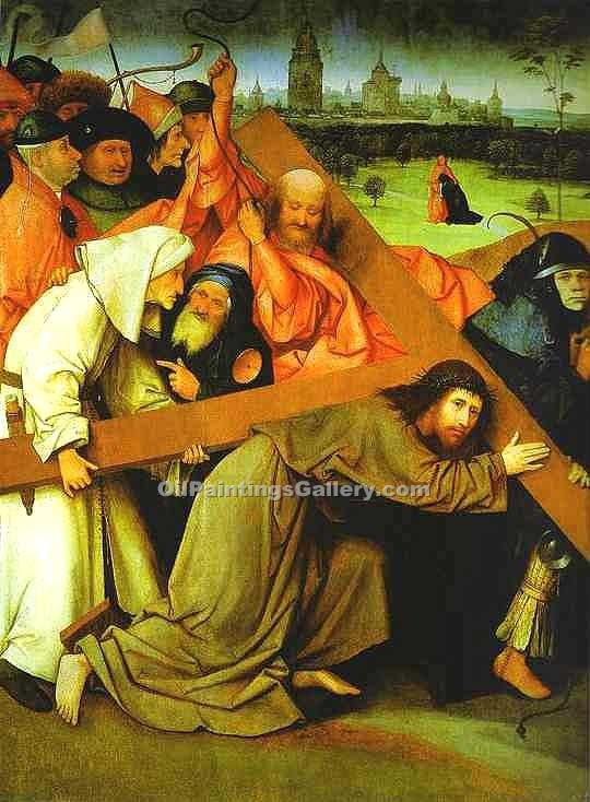 """Christ Carrying the Cross"" by  Hieronymus Bosch"