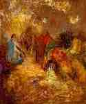 Christ and His Desciples by  Odilon Redon (Painting ID: CK-0032-KA)