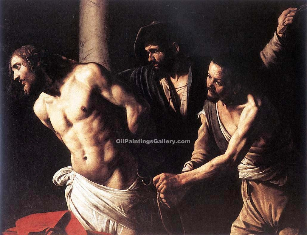 """Christ at the Column"" by    Caravaggio"