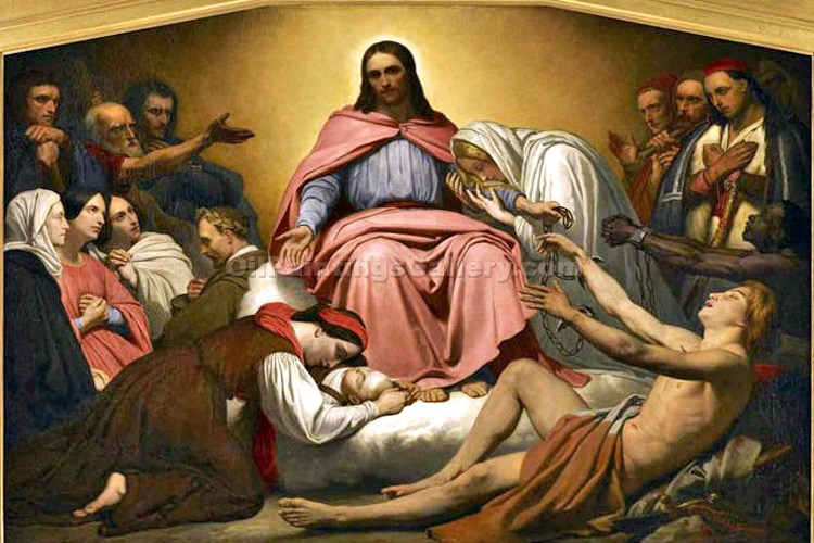 """Christ the Consoler"" by  Ary Scheffer"