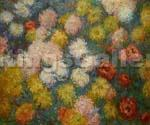 Chrysanthemus by  Claude Monet (Painting ID: MO-1024-KA)