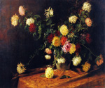 Chrysanthemums by  Mathias J. Alten (Painting ID: SL-0271-KA)