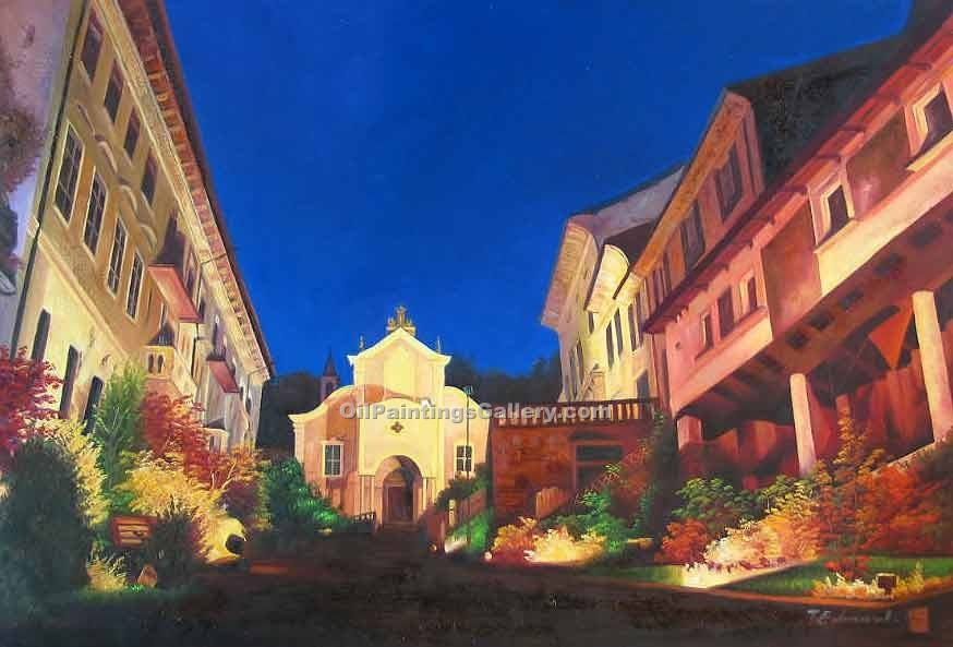"""Church at Night"""