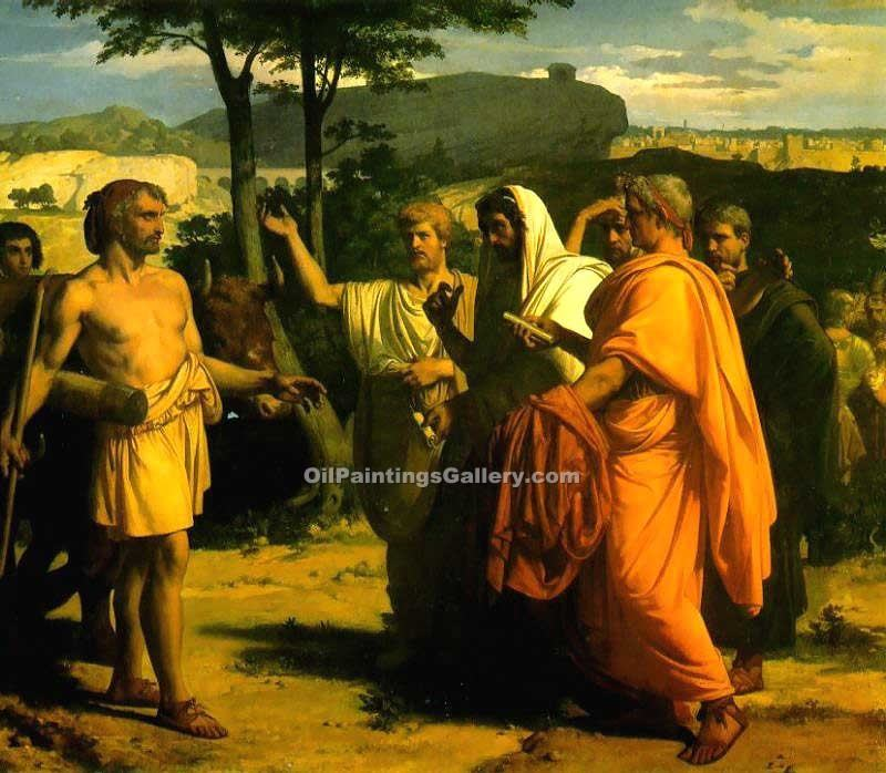 """Cincinnatus Receiving Deputies of the Senate"" by  Alexandre Cabanel"