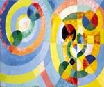 Circular Forms by  Robert Delaunay (Painting ID: AB-0220-KA)