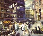 Clif Dwellers by  George Bellows (Painting ID: GE-2242-KA)